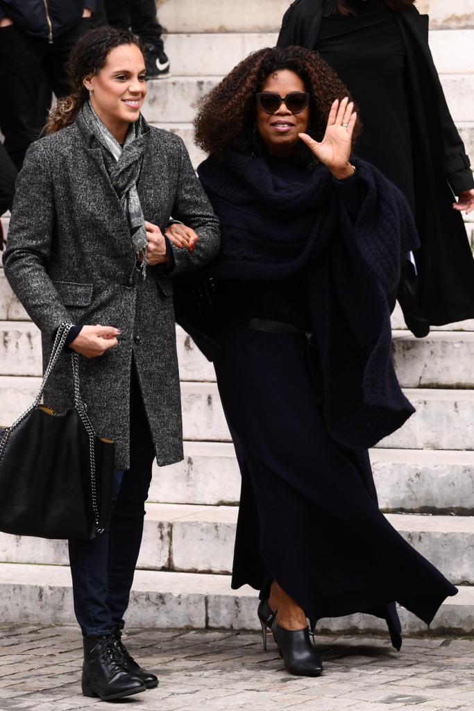 Oprah Winfrey, stella mccartney, paris fashion week