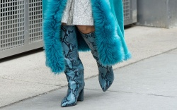 Paris Texas, snakeskin boots, nyfw, fall