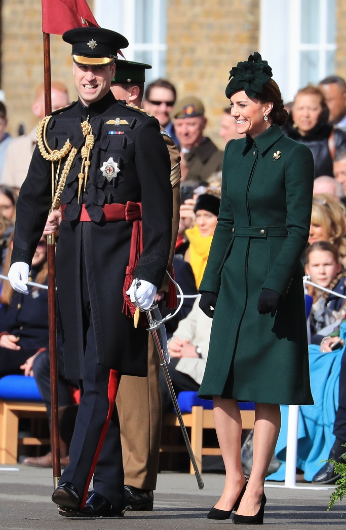 kate middleton, prince william, st. patrick's day 2019