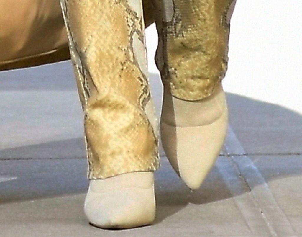 priyanka chopra street style, tony bianco leah sock boots