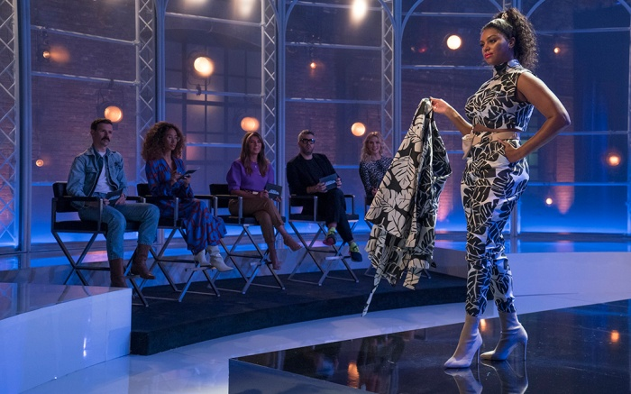 PROJECT RUNWAY -- Episode 1703 -- Pictured: Designed by Afa Ah Loo -- (Photo by: Karolina Wojtasik/Bravo)