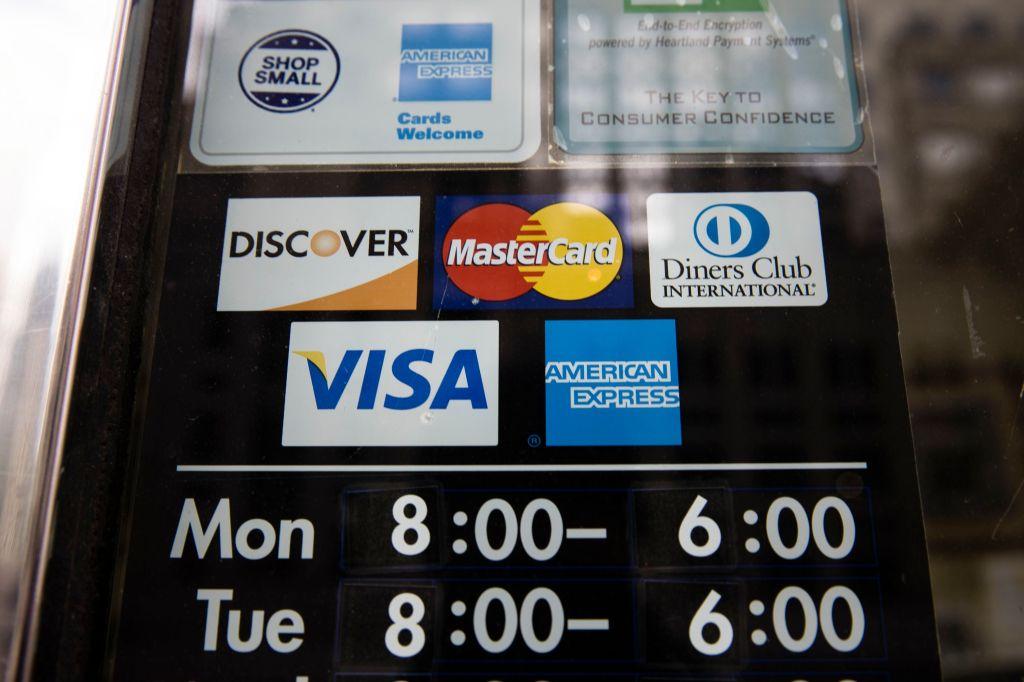 Traditional credit card companies like Visa and Mastercard