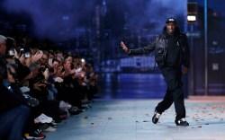 Ghanaian-American designer Virgil Abloh appears on