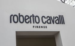Roberto Cavalli logoStreet Style, Milan Fashion