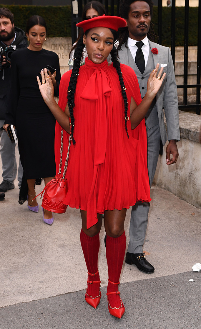 Janelle MonaeValentino show, Arrivals, Fall Winter 2019, Paris Fashion Week, France - 03 Mar 2019