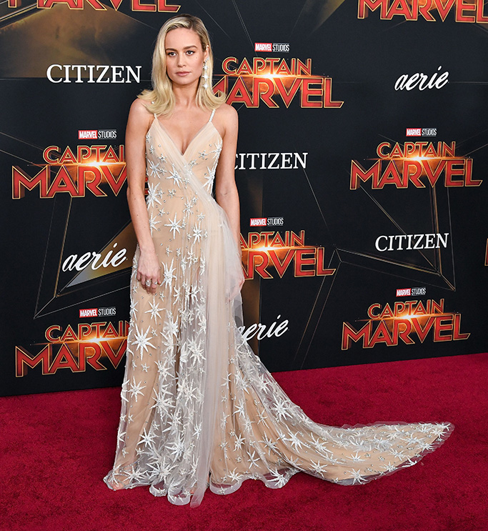 Brie Larson, 'Captain Marvel' Film Premiere, Arrivals, El Capitan Theatre, Los Angeles, USA - 04 Mar 2019