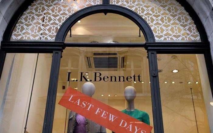 L.K. Bennett Store in Royal Exchange BuildingsLK Bennett in Administration, London, UK - 07 Mar 2019