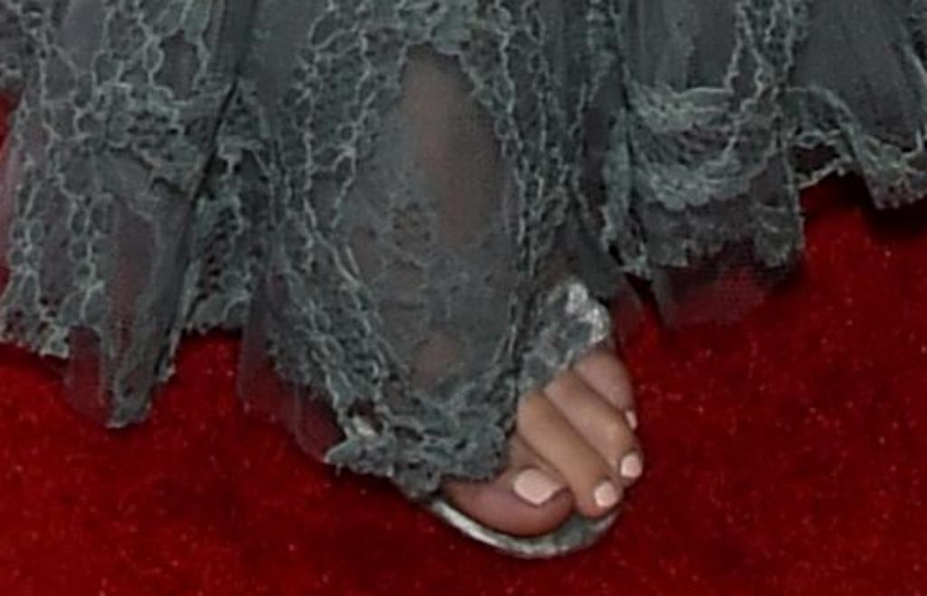 Lili Reinhart sandals