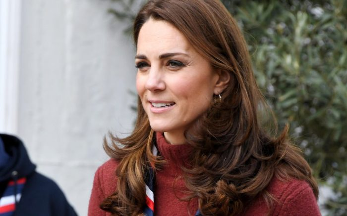 Catherine Duchess of Cambridge visit to the Scouts' Headquarters, Gilwell Park, Essex, UK – 28 Mar 2019