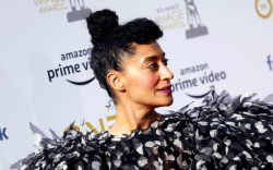 Tracee Ellis Ross poses for the