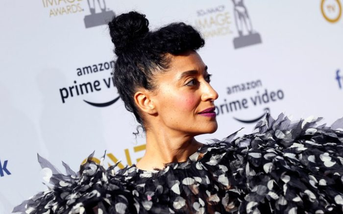 Tracee Ellis Ross poses for the photographers upon her arrival for the 50th NAACP Image Awards at the Dolby Theatre in Hollywood, California, USA, 30 March 2019. The NAACP Image awards honor excellence in television, recording and motion picture categories.50th NAACP Image Awards, Hollywood, USA - 30 Mar 2019