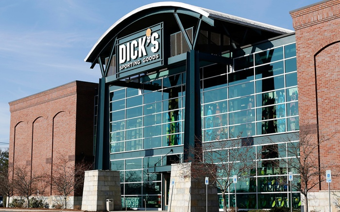 Dick's Sporting Goods in Danvers, Massachusetts, USA, 28 February 2018. The company announced on 28 February 2018, two weeks after the shooting that killed 17 people at Marjory Stoneman Douglas High School in Parkland, Florida, that they would no longer sell assault rifles and will raise the minimum age requirement to 21 for all gun purchases.Dick's Sporting Goods no longer sell assault rifles, Danvers, USA - 28 Feb 2018