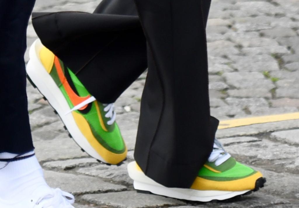 Sacai x Nike LDV Waffle, kaia gerber, unreleased sneakers