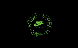 Nike 'Give Fresh Air' Logo