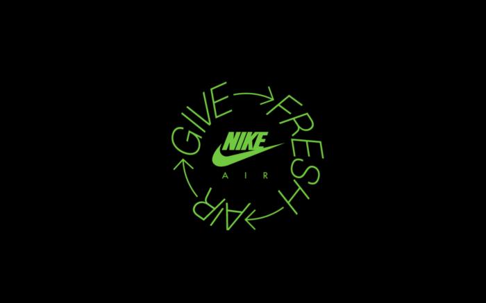 Nike 'Give Fresh Air' Logo