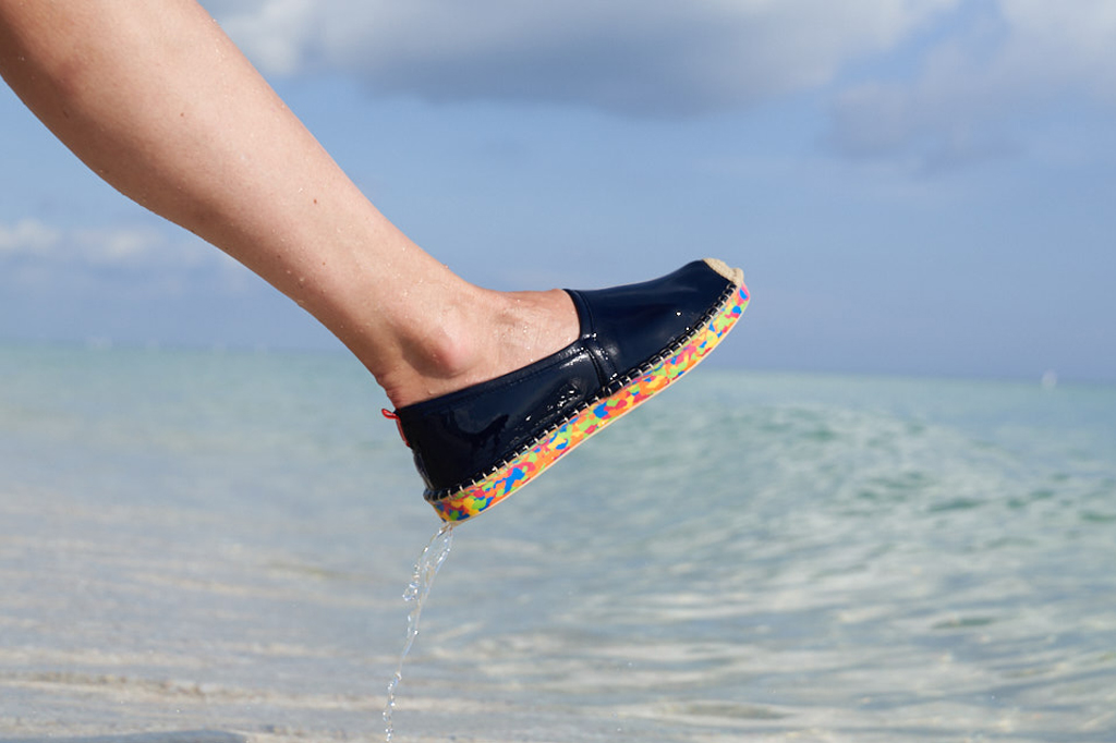 Sea Star Beachwear Ocean Sole Collab