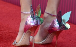 Taylor Swift wearing Sophia Webster's Chiara