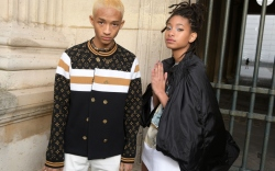 jaden smith, willow smith, paris fashion
