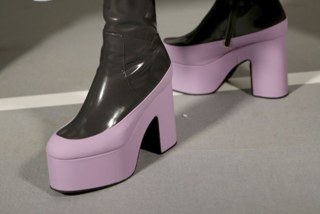 Dries Van Noten, fall 2019 trends, platform shoes