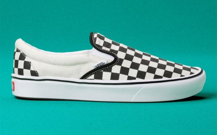 Vans ComfyCush Checkerboard Slip-On