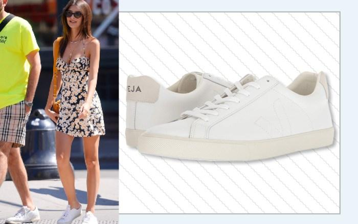 em rata white sneakers dress veja esplar