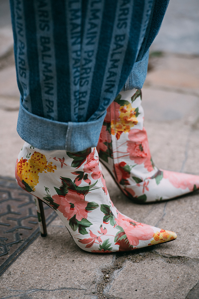 Vetements boots, paris street style