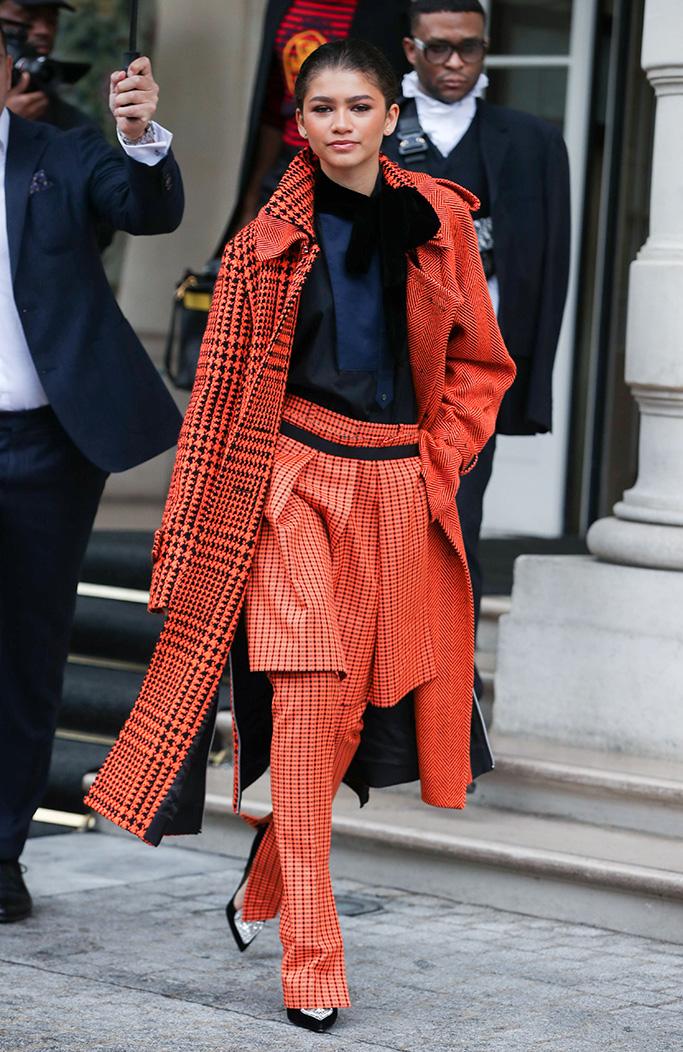 ZendayaZendaya out and about, Paris Fashion Week, France - 01 Mar 2019