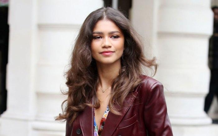Zendaya, tommy hilfiger, fall 2019, paris fashion week, celebrity style
