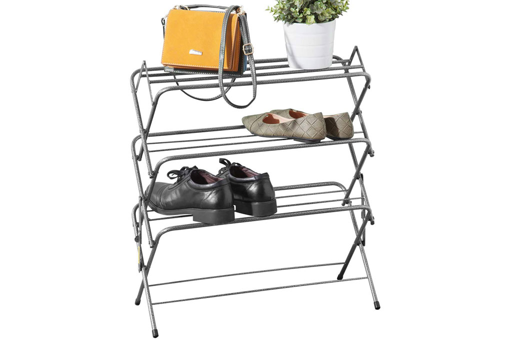 Zenree 4-Tier Folding Shoe Shelf