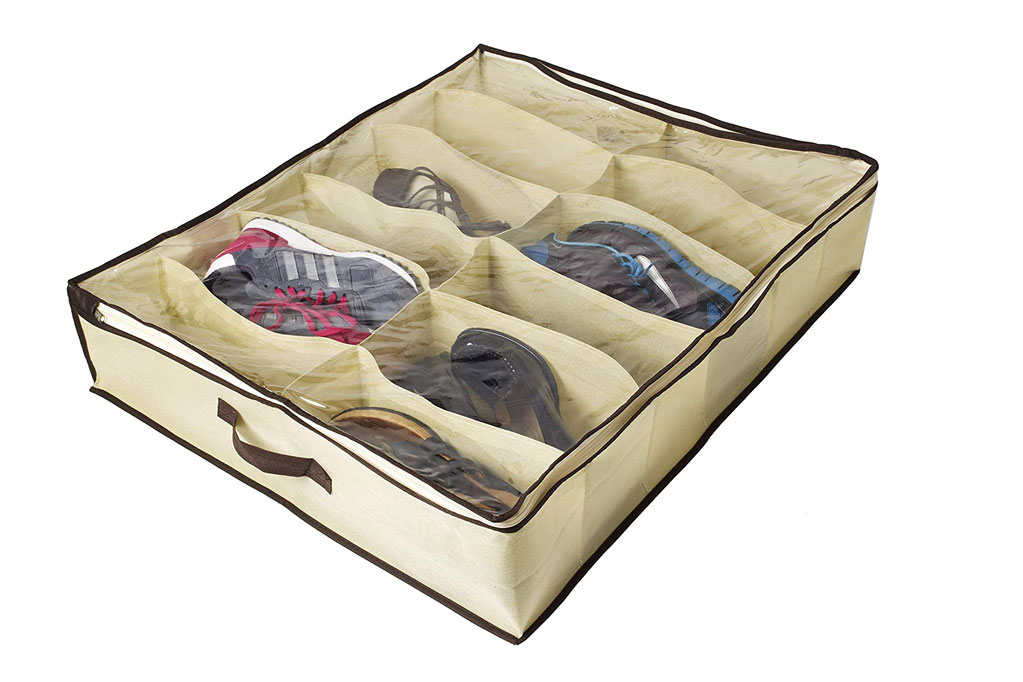 Ziz under bed shoe organizer