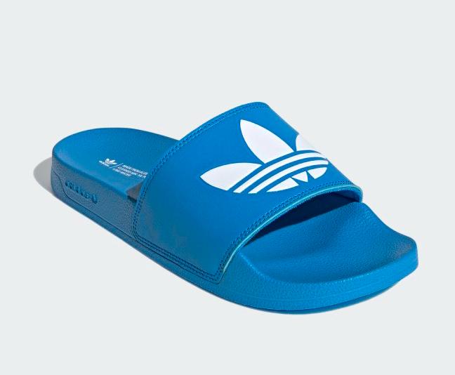 Adidas adilette slides, best recovery slides for men