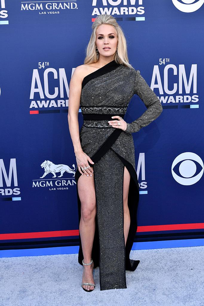Carrie Underwood54th Annual ACM Awards, Arrivals, Grand Garden Arena, Las Vegas, USA - 07 Apr 2019