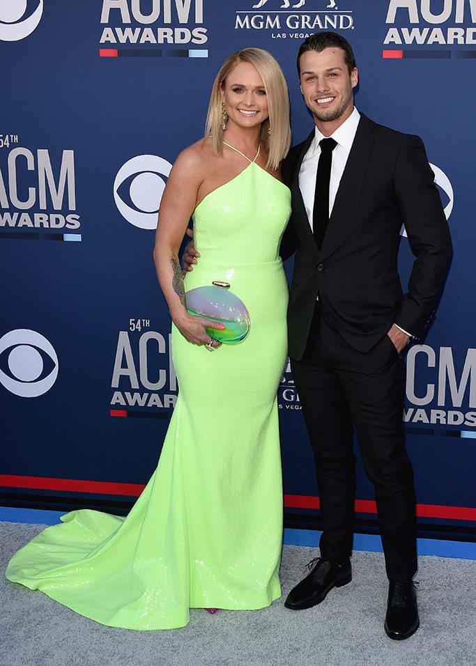 Miranda Lambert and Brendan McLoughlin54th Annual ACM Awards, Arrivals, Grand Garden Arena, Las Vegas, USA - 07 Apr 2019