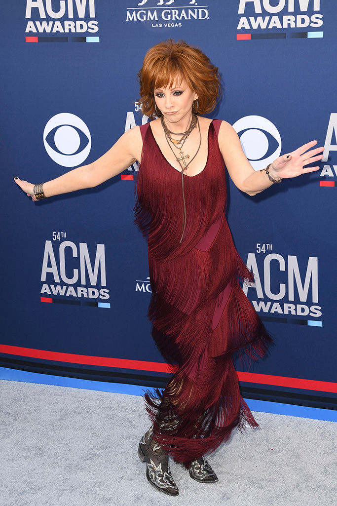 Reba McEntire54th Annual ACM Awards, Arrivals, Grand Garden Arena, Las Vegas, USA - 07 Apr 2019