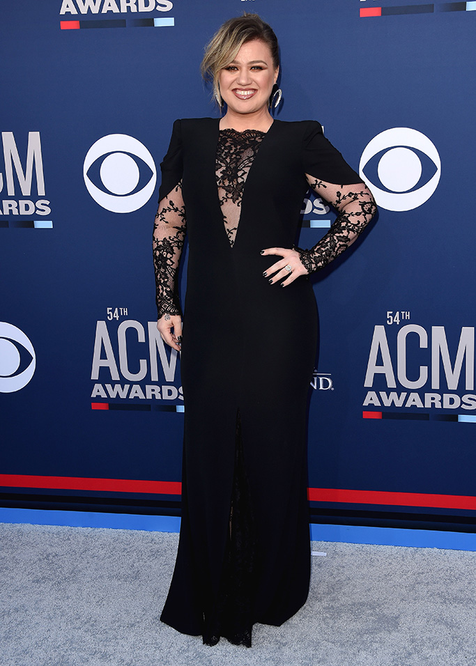 Kelly Clarkson54th Annual ACM Awards, Arrivals, Grand Garden Arena, Las Vegas, USA - 07 Apr 2019