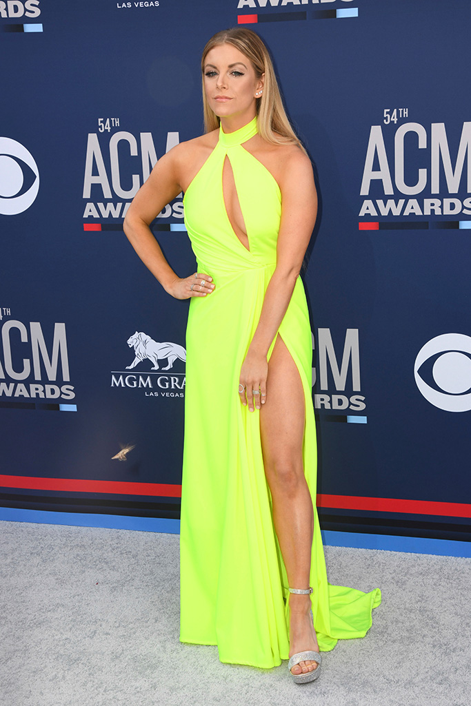 Lindsay Ell, 54th Annual ACM Awards, Arrivals, Grand Garden Arena, Las Vegas, USA - 07 Apr 2019