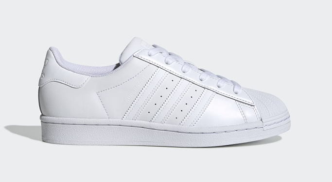 adidas superstar, best white sneakers with dresses