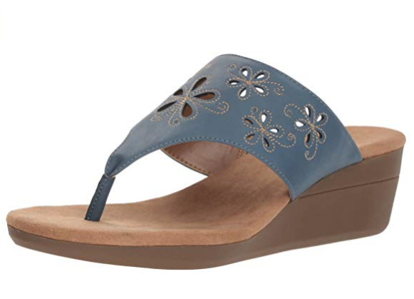 Aerosoles Air Flow wedge sandals.