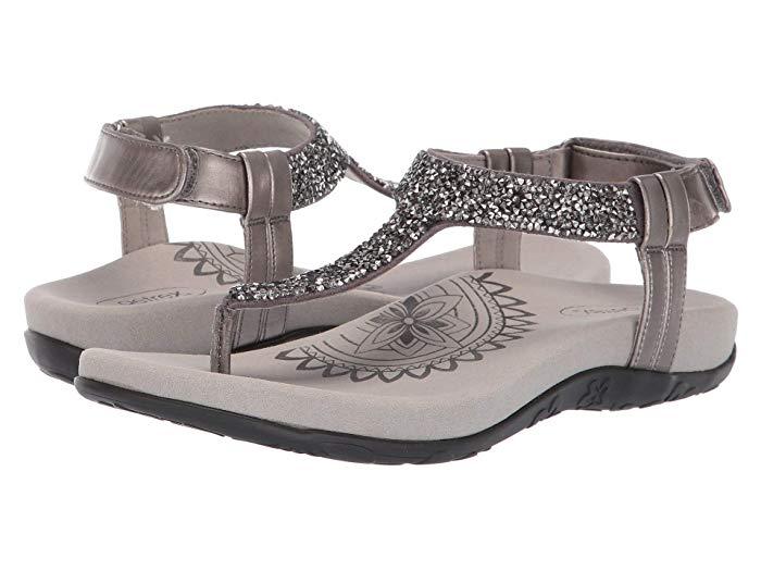 Aetrex Jade sandals.