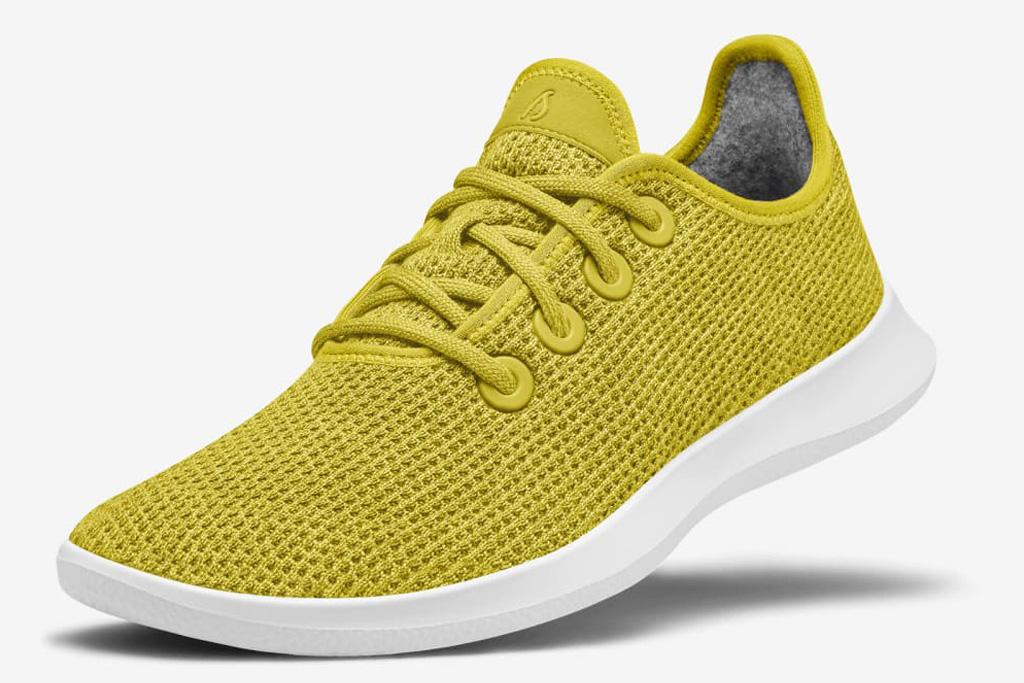 allbirds, sneakers, yellow