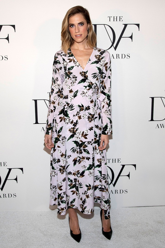 Allison Williams attends the 10th annual DVF Awards at the Brooklyn Museum, in the Brooklyn borough of New York10th Annual DVF Awards, New York, USA - 11 Apr 2019