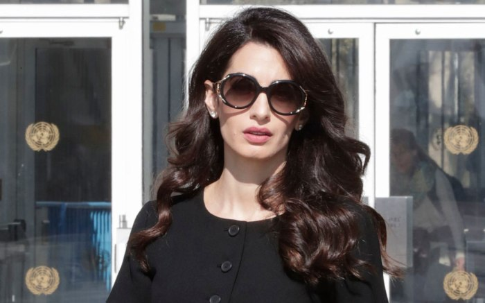 Amal clooney, celebrity style, united nations, april 2019