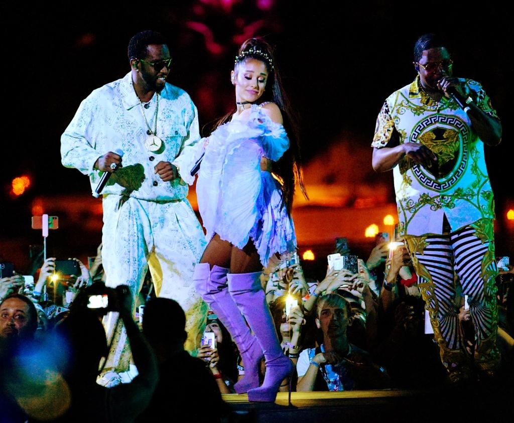 Ariana Grande headlines the 2019 Coachella Valley Music and Arts Festival.