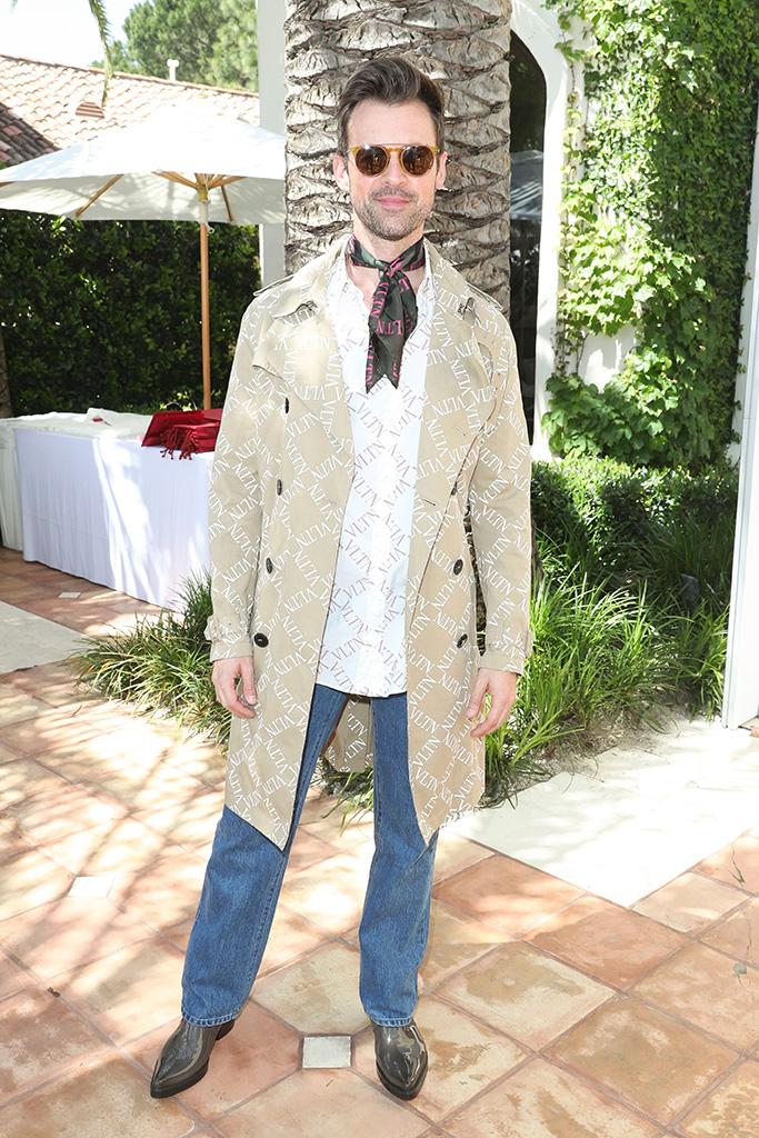 Brad GoreskiH.E.A.R.T. X Valentino, 14 Beverly Park, Los Angeles, USA - 24 Apr 2019Wearing Valentino