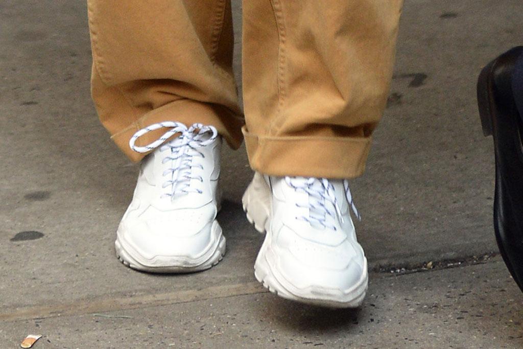 BTS, V, street style, white sneakers