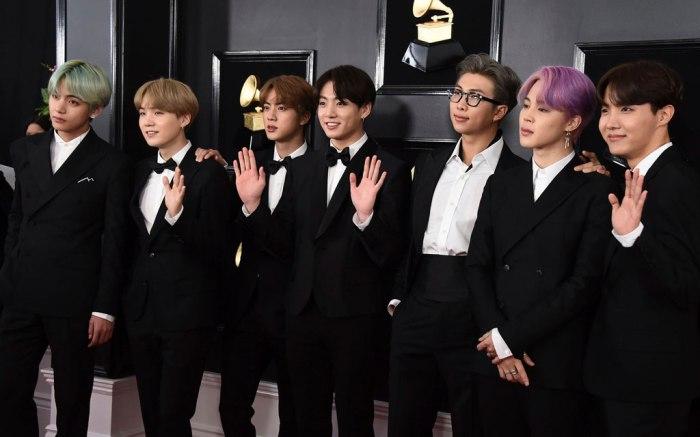 BTS, 2019 grammy awards, los angeles