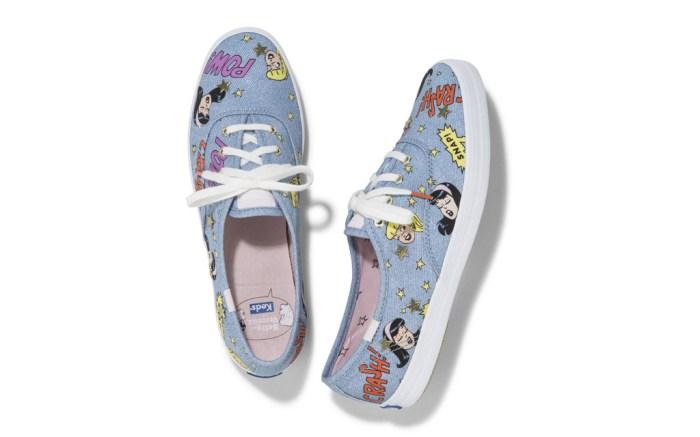 Betty and Veronca, womens shoes, keds