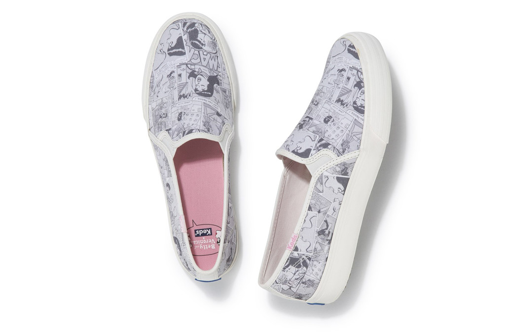 Keds, Betty and Veronica, Sneaker, Riverdale Style, Keds X Betty and Veronica Double Decker Comic shoe