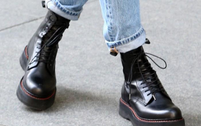 ciara, combat boots