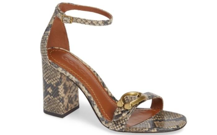 coach maya sandal
